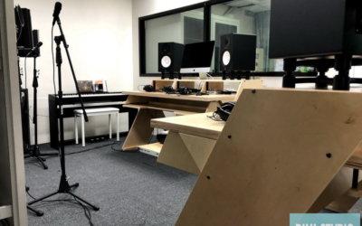 工程實績 – 恆毅高中錄音室,數位音樂器材規劃