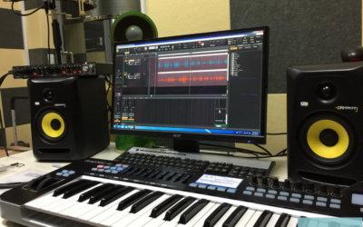 工程實績 – 惠文高中圖書館錄音室,數位音樂器材規劃