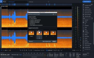 iZotope RX8 系列 – 自動降低影片環境噪音,去除音樂中的人聲