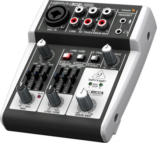 BEHRINGER XENYX 302 USB-04
