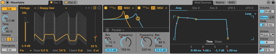 wavetable-pulser